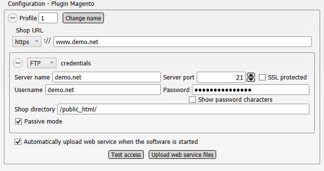 Configuration Plugin Magento