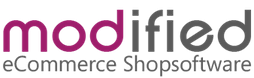 modified eCommerce shop software logo